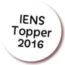 We-re a IENS 2016 topper